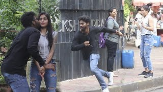 Kiss And Run Prank - Part 2 | Funk You (Pranks In India)
