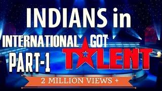 getlinkyoutube.com-Top 5 - Indians in International Got Talent shows | SIMBLY CHUMMA