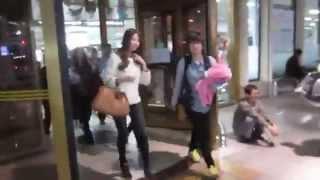 getlinkyoutube.com-SNSD Taeyeon, Tiffany, Seohyun Arrived Gimpo Airport 2015 Cute Girls
