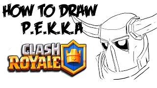 getlinkyoutube.com-How to Draw P.E.K.K.A (Clash Royale)