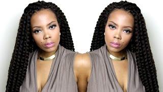 getlinkyoutube.com-EASY Crochet Braids ft. Authentic Senegalese Twist (Samsbeauty) | tastePINK
