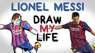 getlinkyoutube.com-Lionel Messi | Draw My Life