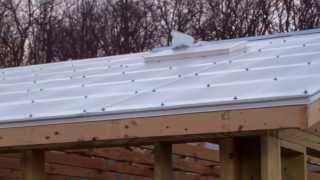 getlinkyoutube.com-Greenhouse-Polycarbonate and glass greenhouse construction 2-12