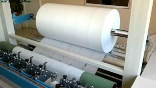 dilimleme makinası (nonwoven),slitter machine (nonwowen)