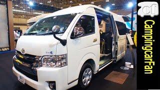 getlinkyoutube.com-【ジョイン】ふたり旅専用レイアウトで豪華な室内を持つハイエースバンコン Japanese Camper van using Toyota HiAce