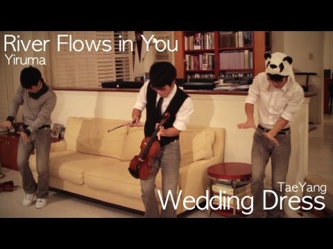 River Flows in You - Yiruma/ Wedding Dress - Taeyang (Jun Sung Ahn) Violin Cover -8vHblMjqJfs