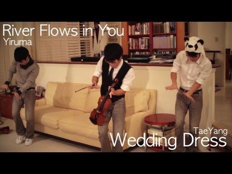 River Flows in You - Yiruma/ Wedding Dress - Taeyang (Jun Sung Ahn) Violin Cover -8vHblMjqJfs