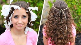 "getlinkyoutube.com-How to Create ""No-Heat"" Paper Towel Curls"