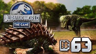 Hazardous Herbivours || Jurassic World - The Game - Ep 63 HD