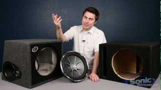 getlinkyoutube.com-Comparing Subwoofer Boxes: Manufacturer & Prefab Enclosures