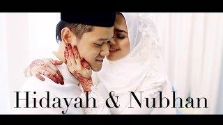 """getlinkyoutube.com-Majlis Pernikahan Hidayah & Nubhan AF6 : """"Untuk family.."""""""