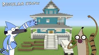 "getlinkyoutube.com-Minecraft - Awesome ""Regular Show""!!! Survival House AFSH#1"