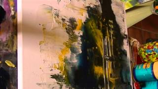 getlinkyoutube.com-Acrylmalerei, spontan gemalt..Painting acrylic, spontaneous...