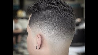 getlinkyoutube.com-How to Do A Drop Skin Fade | Barber Motivation | www.vickthebarber.com