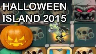 getlinkyoutube.com-HALLOWEEN ISLAND 2015 Dragon City Frankie Dragon Bone Dragon Combat Quest