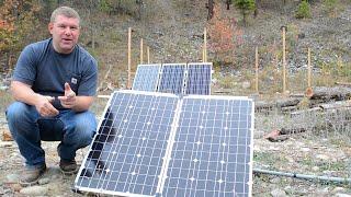 getlinkyoutube.com-Portable Solar Update: Success or Failure? + New System Test Drive (Off Grid, RV & Boondocking)