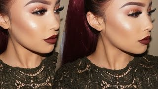 getlinkyoutube.com-Fall Glam Makeup Tutorial