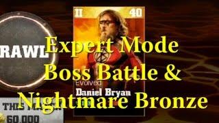 getlinkyoutube.com-WWE Immortals - Expert Evolved Daniel Bryan Boss Battle - Nightmare Bronze