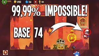 getlinkyoutube.com-BASE 74 | 99,99% IMPOSSIBLE! | Top Dungeon Formation #17 | King of Thieves