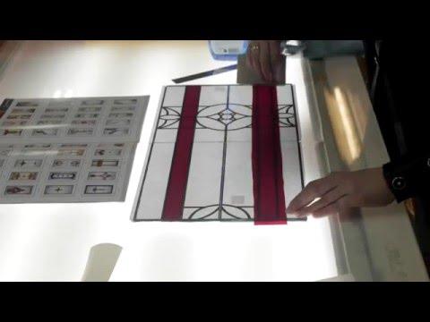 Пленочный витраж своими руками. Видеоуроки по изготовлению витражей от ВитражТрейд..