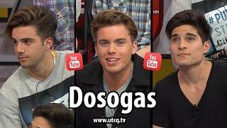 """getlinkyoutube.com-Entrevista a los youtubers """"Dosogas"""" en Una Tarde Cualquiera - #Transmedia"""