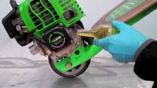 getlinkyoutube.com-Propane 4 Stroke Go-Ped Oil Change