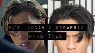 getlinkyoutube.com-Men's Fashion | 90's Leonardo DiCaprio Hairstyle Tutorial