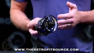 TRS Tech: Morimoto Bi-xenon Projector Comparison. Mini H1, Mini D2S, FX-R