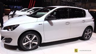 getlinkyoutube.com-2015 Peugeot 308 GT Line - Exterior and Interior Walkaround - 2015 Geneva Motor Show