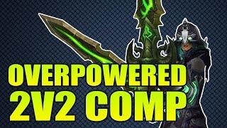getlinkyoutube.com-The Most Overpowered 2v2 Comp In Warlords of Draenor 6.0 [Thyraz & Lightning]