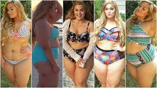 getlinkyoutube.com-Plus-Size Swimwear Lookbook