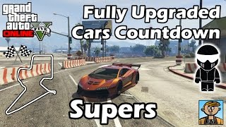 getlinkyoutube.com-Fastest Supercars (2015) - Best Fully Upgraded Cars In GTA Online