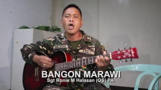 Soldier composes song for conflict-torn Marawi 2017