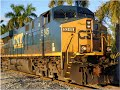 "CSX O721 ""PRESIDENTS DAY SPECIAL"" GE ES44DC"