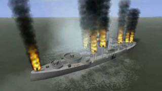 "getlinkyoutube.com-IL-2 Sturmovik - Dart's ""How to attack Big Ships and AAA Ships"""