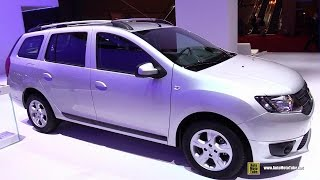 getlinkyoutube.com-2015 Dacia Logan MCV - Exterior and Interior Walkaround - 2014 Paris Auto Show