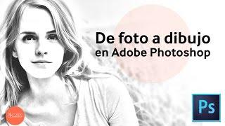 getlinkyoutube.com-Efecto de dibujo en Photoshop | HD | Tutorial en Español