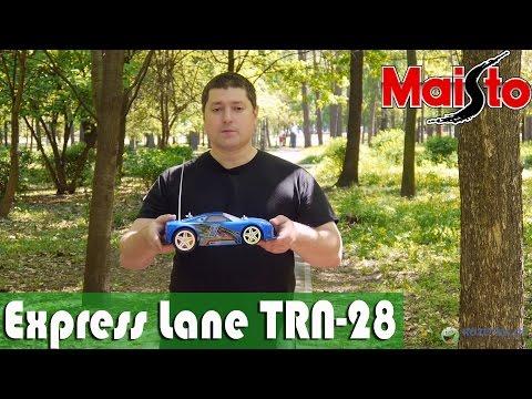 Maisto Express Lane TRN-28: обзор модели автомобиля на р/у