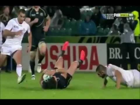 huge rugby hits and beast runs (2011-2012)