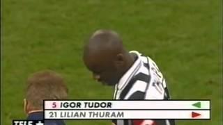 getlinkyoutube.com-Inter-Juventus 2-2 09.03.2002 Tele+ 1° Tempo