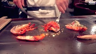 Lobster - Teppanyaki in Okinawa, Japan