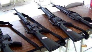 getlinkyoutube.com-M16步槍& 90手槍射擊訓練