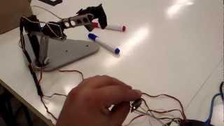 getlinkyoutube.com-Arduíno + MPU-6050 Acelerômetro e Giroscópio +3 Servos