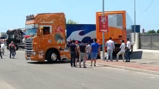 getlinkyoutube.com-4°Mediterranean Truck Eboli (SA)30 06 2013:Scania R620 Nostalgia,DON PEPPE, La sirenetta 2