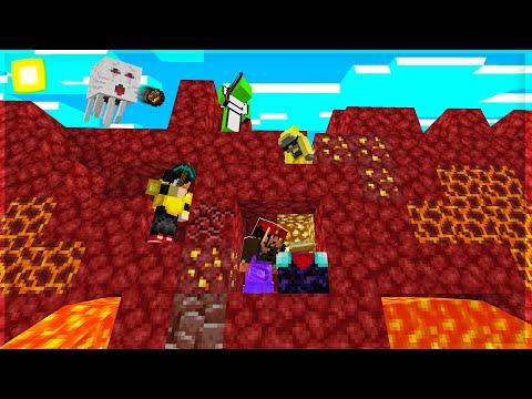 CACCIA ALL'UOMO NEL NETHER! - Minecraft Speedrunner VS 2 Hunters