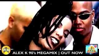 getlinkyoutube.com-Alex K - Wild 90s Megamix #2 [Epic 30 minute video mix!]