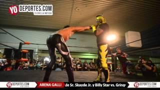 Skayde Sr.  Skayde Jr  Billy Star vs. Gringo Loco El Traidor y Zima Ion