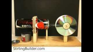 getlinkyoutube.com-Building the Horizontal Pop Can Stirling Engine