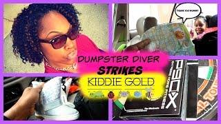 getlinkyoutube.com-Dumpster Divng: Mommy Strikes Kiddie GOLD Once Again
