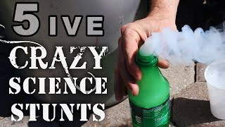 getlinkyoutube.com-5 Crazy Science Stunts You Can't Try At School